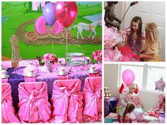 princess tea party.