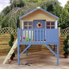 6 x 5 Waltons Honeypot Honeysuckle Tower Wooden Playhouse
