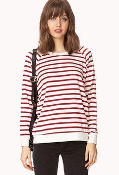 Shore Thing Striped Sweatshirt