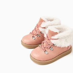 LINED MOUNTAIN-STYLE BOOTS-SHOES AND BAGS-BABY GIRL | 3 months-3 years-KIDS | ZARA United States