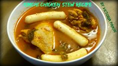 Kimchi Chicken Stew Recipe   By Victoria Paikin Stew Chicken Recipe, Spice Things Up, Poultry, Spicy, Good Food, Victoria, Easy, Recipes