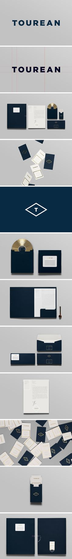 Tourean - Corporate branding