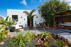 South facing private patio garden