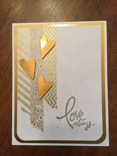 Valentine's Day card with Washi tape                                                                                                                                                      More