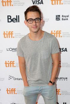 """Kevin McHale (@druidDUDE) at the TIFF Screening and After Party for """"Pride"""""""