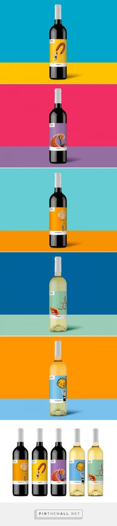 "Packaging for spanish wines ""VERANO DE ESPAÑA"" by Enric Aguilera"