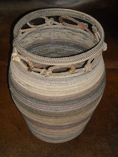 Lariat Rope Basket | Apartment ideas | Pinterest | Rope Basket ...