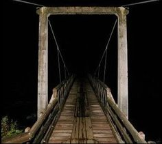 Most Terrifying Locations On Earth The Screaming Bridge At least 36 people were reported dead on or around the Maud Hughes Road Bridge. Ghostly figures, mists, and lights have been seen, as well as black hooded figures and a phantom train. According to th