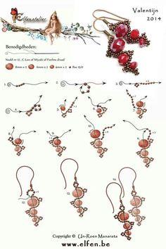 DIY: Beaded earrings