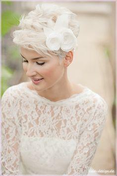 Haarschmuck Braut Haarband ~  filigree fleure3
