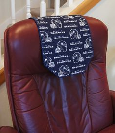 Recliner/Chair Headrest Protector Made with Seattle by ChairFlair $50.00 & Custom Order FOR baby*boomer53 Recliner Cap His Her Set Sand w two ... islam-shia.org
