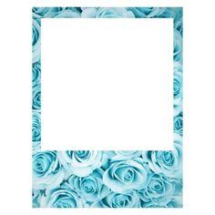 Blue flower Marco Polaroid, Polaroid Frame Png, Polaroid Picture Frame, Polaroid Template, Polaroid Pictures, Frame Template, Picture Frames, Templates, Architecture Tattoo