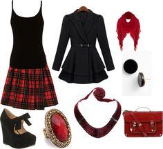 """skottish fashion"" by carolwatergirl on Polyvore"