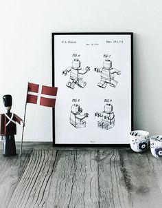 LEGO Figuren - Bomedo.com  Plakat