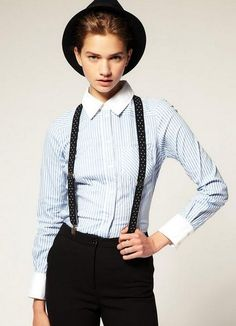 Menswear-Inspired Fashion: A Revived Trend for Women on http://www.notonlyshopping.com