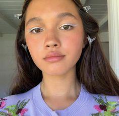 glowing makeup look Makeup Inspo, Makeup Art, Makeup Inspiration, Beauty Makeup, Eye Makeup, Hair Makeup, Hair Beauty, Pretty Makeup Looks, Pretty Face