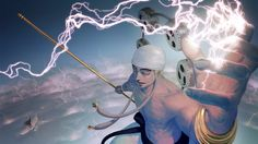 God Enel Anime Lightning One Piece Picture HD 1920×1080