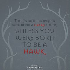 There's nothing wrong with being a lizard, either.  Unless you were born to be a hawk.