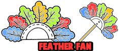 How to Make Feather Fans