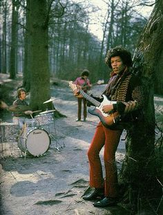 Oh nothing, just the Jimi Hendrix Experience out in the forest...
