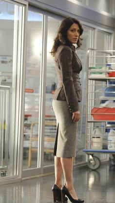 Lisa Edelstein ... From House, wheres Cuddy gone ...
