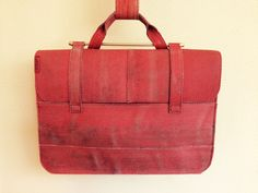 Workbag, made of used firehose