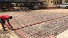 This Ghanaian company is turning plastic waste into asphalt roads Plastic Free July, Asphalt Road, Plastic Waste, Ghana, Patio, Roads, Turning, Outdoor Decor, Design