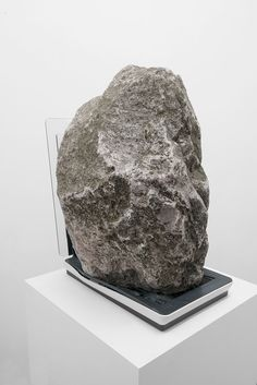 Nicolas Lamas | 2014, Partial view, stone, scanner, variable dimensions