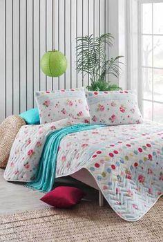 Tavaszi Pezsgés kétszemélyes steppelt ágytakaró