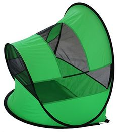 Pet Life PTT3GN Modern Curved Collapsible Outdoor Pet Tent, Medium