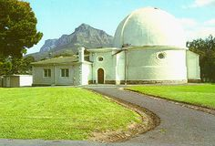 """McLean dome and laboratory at SAAO, Cape Town, South Africa. This was formerly part of the Royal Observatory at the Cape of Good Hope, founded in 1820. It houses the Victoria telescope and is now used mainly as a museum and visitor center. Mona Evans, """"Royal Observatory Cape of Good Hope"""" http://www.bellaonline.com/articles/art180302.asp"""
