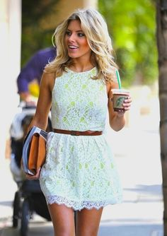 Love the dress...would be super cute with the brown cowboy boots on this board!