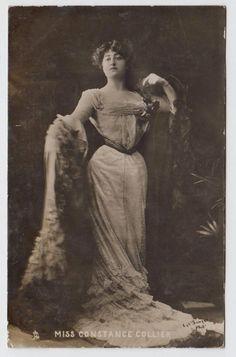 POSTCARD - Constance Collier, full length pose, Edwardian actress, Tuck RP | eBay