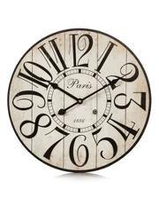 George Home Vintage Large Number Wall Clock