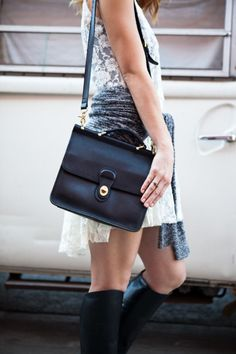 Vintage Coach Willis: toujours chic! Have mine now for many yrs ♥ still looks amazing too!!