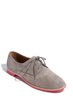 i think i need these. grey or tan is the question... --> DV by Dolce Vita 'Mini' Suede Lace-Up Oxford