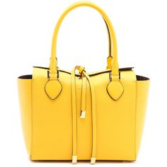 Michael Kors Collection Miranda Tote ($995) ❤ liked on Polyvore