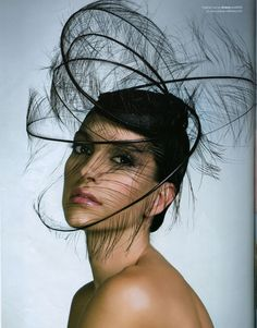 Ariane Millinery  Chaundra Lukes onto Nothing But (Hats)Used 2 Wear them not as much..Till Like A Good Hat