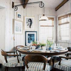 "Ralph Lauren Home Archives, ""Hither Hills Studio"" Dining Room, 2007"