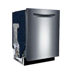 "Bosch SHPM78W55N 24"" 800 Series Built-In Dishwasher w/ Pocket Handle - Stainless Steel 2"