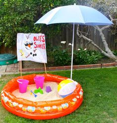 olaf beach, get a ring pool, I have sand order beach balls from oriental trading and get a couple buckets for gifts for kids Frozen 3rd Birthday, Olaf Party, Frozen Birthday Theme, Frozen Themed Birthday Party, Elsa Birthday, Ball Birthday, Summer Birthday, 4th Birthday Parties, Birthday Ideas