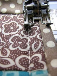 I receive many queries regarding quilt binding, specifically machine stitching the binding, and would like to clarify a few technical, but  ...