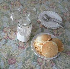 Pancakes from a Homemade Mix