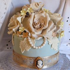 Bridal Shower Sample Cake