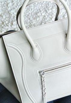 My favorite Designer brand handbag.  Céline Phantom bag. #celine #love