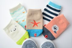 Beach Socks Set - ready for summer, bring it on! Ideal for babies and toddlers.