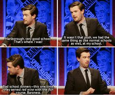 """On private education:   41 Times """"Have I Got News For You"""" Perfectly Summed Up Britain"""