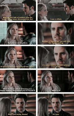 "#OnceUponATime 4x16 ""Poor Unfortunate Soul"" - Emma and Hook"