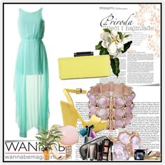 Evening, created by niyans on Polyvore
