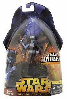 Star Wars E3 B41 AAYLA SECURA by Hasbro. $13.64. Based on the movie - Attack of the Clones and Revenge of the Sith. Action figure comes with accessories and display stand. The character was created for Dark Horse Comics by John Ostrander and Jan Duursema. Aayla Secura is a fictional character in the Star Wars universe. In the films Attack of the Clones and Revenge of the Sith, she was portrayed by Amy Allen. The character was created for Dark Horse Comics by John Ostrand...
